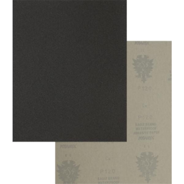 Kovax waterproof zwart - siliciumcarbide 230 x 280 mm